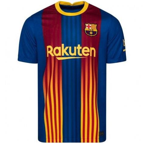 Барселона четвертая форма 2020-2021 версия SENYERA (футболка + шорты + гетры)