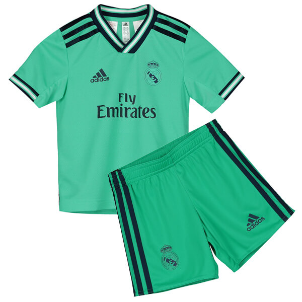 Реал Мадрид (Real Madrid) Футбольная форма детская резервная 2019-2020